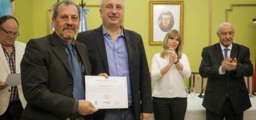 Passalacqua encabezó la entrega de certificados a 80 gestores energéticos formados a partir del trabajo conjunto entre la provincia, el CFI y la UNaM