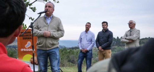 """Passalacqua, en Pozo Azul: """"Ustedes nos dan un ejemplo de lucha y de amor por la tierra"""""""