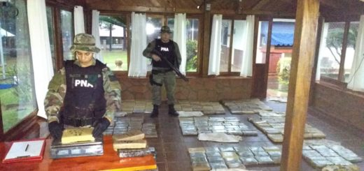 Prefectura secuestró 220 kilogramos de marihuana en Puerto Rico