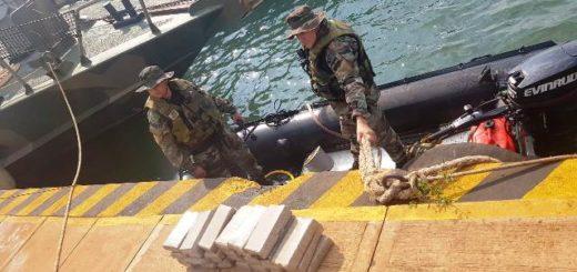 Prefectura secuestró 230 kilogramos de marihuana y detuvo a tres personas en Posadas