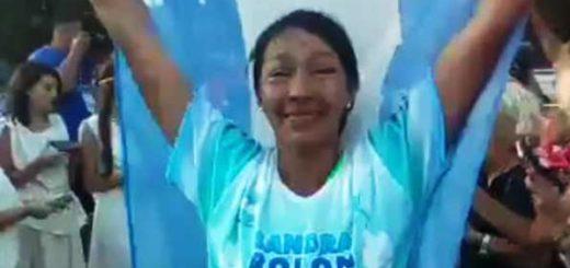 """La atleta Sandra Rolón finalizó el Spartathlon de Grecia """"es mi regalo para Eldorado en su centenario"""""""