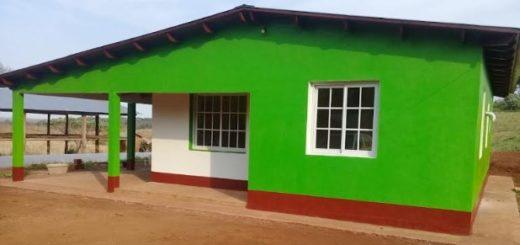 El Iprodha concluyó la construcción de nueve viviendas rurales en San Vicente