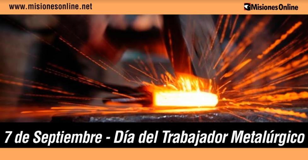 Hoy saludamos a todos los trabajadores metalúrgicos: uno de los sectores de mayor trayectoria de la economía argentina