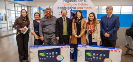 Banco Macro sigue entregando premios en Misiones por los consumos con tarjeta de débito