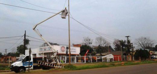 La Municipalidad de Posadas realizó trabajos de mantenimiento y arreglo de semáforos en distintos puntos de la ciudad