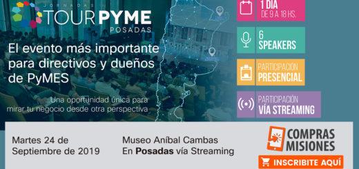 Jornadas Tour Pyme: uno de los speakers te explica por qué participar desde Posadas…Aquí, detalles e inscripciones por Internet
