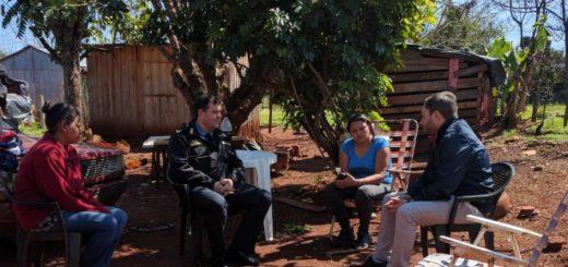 Santa Ana: el subsecretario de Seguridad y el jefe de la Policía de Misiones visitaron a la familia del chico de 16 años asesinado por un uniformado