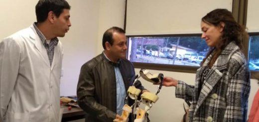 Oscar Herrera Ahuad inauguró un Taller de Ortesis y Prótesis que funcionará en el Hospital Escuela