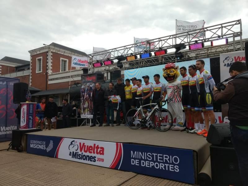 Vuelta a Misiones 2019: comenzó la primera etapa con la largada desde Posadas que finaliza en Alem