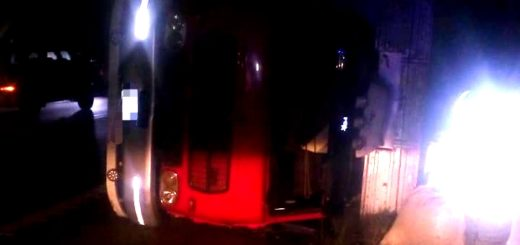 Despiste de un camión en Campo Viera dejó daños materiales