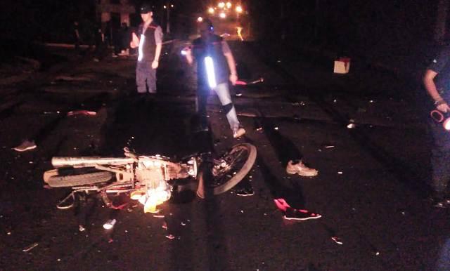 Tránsito fatal: el choque entre dos motocicletas dejó como saldo dos muertos y un lesionado de gravedad en Posadas