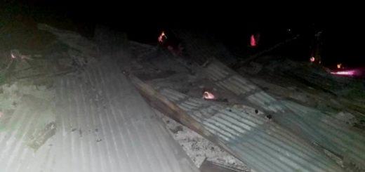 El Soberbio: terminaron detenidos por incendiar una vivienda y amenazar al propietario