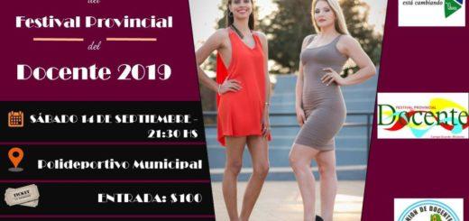 Inicia hoy en Campo Grande la 34 edición del Festival Provincial del Docente