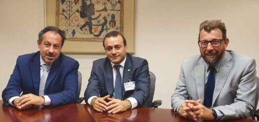 """Desde el BID consideraron """"muy productiva"""" la reunión que mantuvieron con Herrera Ahuad en Estados Unidos"""