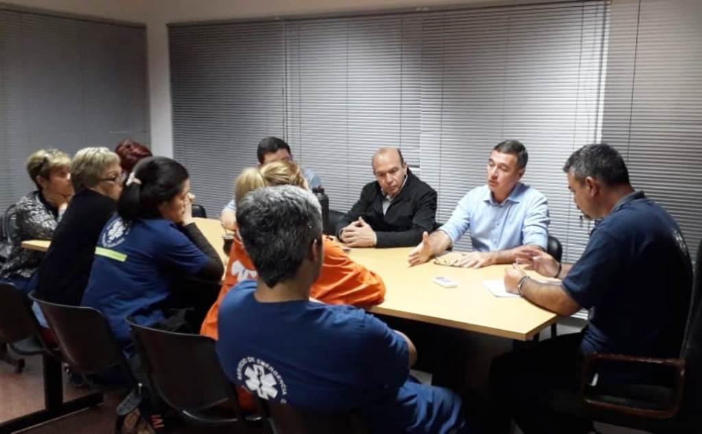 Tras reunión con Villalba trabajadores de la red de traslados levantaron ayer medida de fuerza