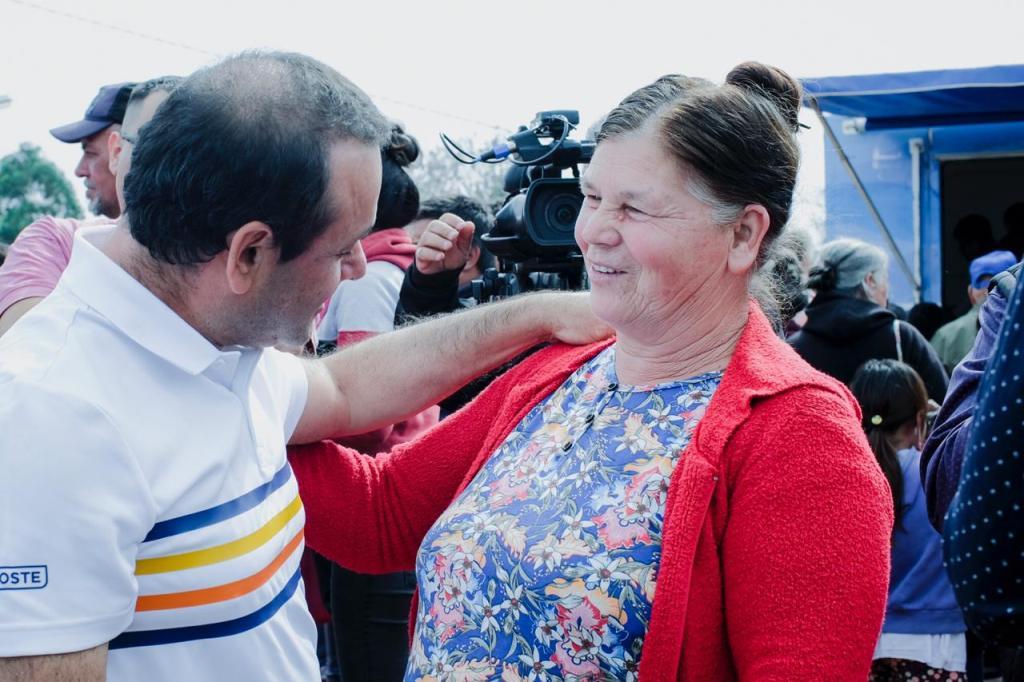 Herrera acompañó Barrios Activos en San Pedro y ratificó el rumbo del Gobierno en la atención de demandas sociales