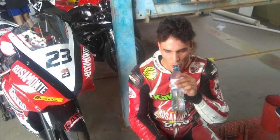 Motociclismo: festejo en casa para el Rosamonte Racing Team