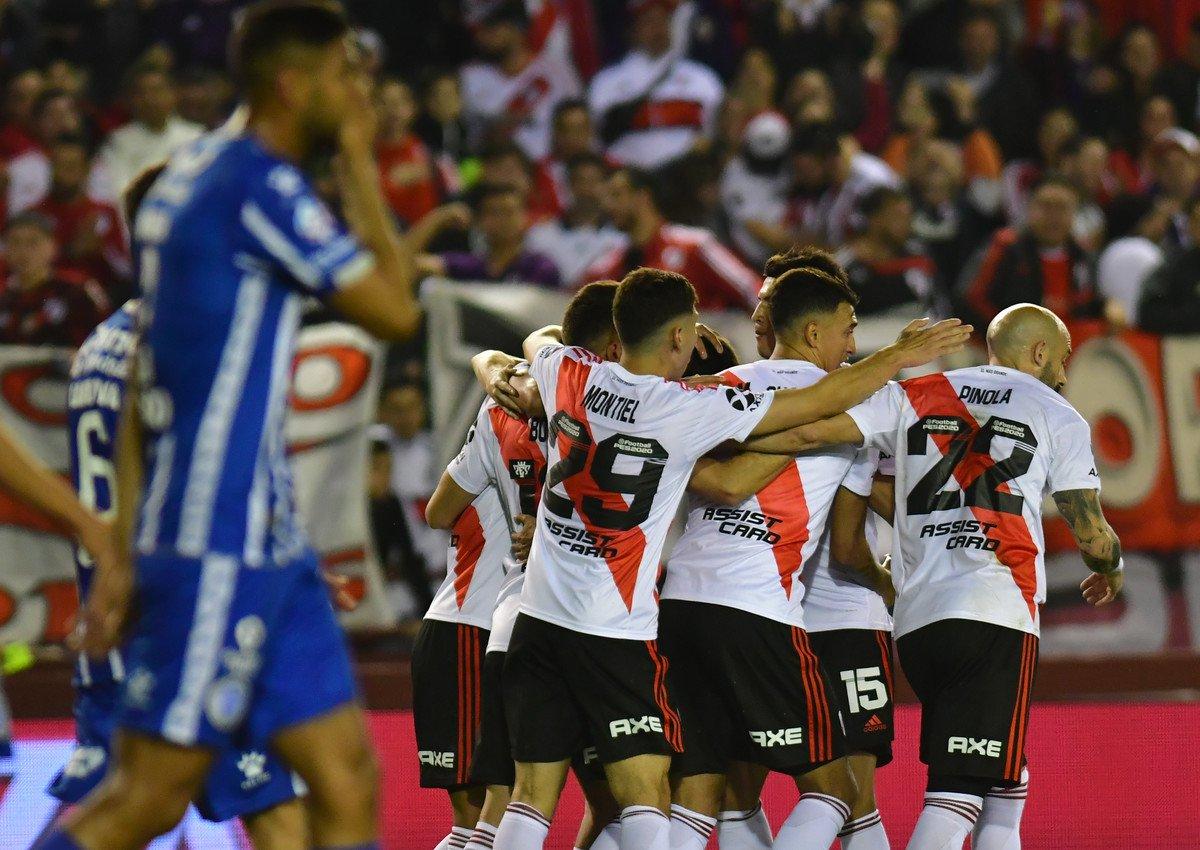River venció 1-0 a Godoy Cruz y avanzó a cuartos de final de la Copa Argentina