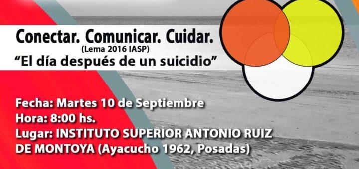 Enrique Stein en Posadas, disertará el martes 10 de septiembre sobre prevención del suicidio y el tratamiento en los medios de comunicación