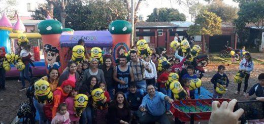 Siguen los festejos por el día el niño en el barrio Yacyretá de Posadas