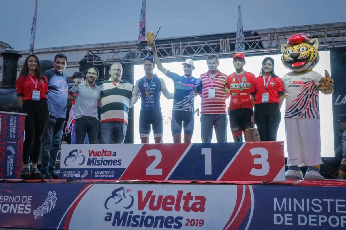 Matías Médici se quedó con la Vuelta a Misiones