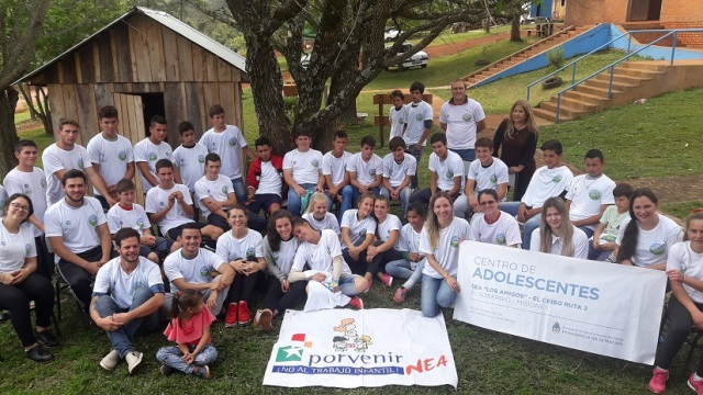 Se realizó el encuentro de jóvenes de zonas rurales en El Soberbio