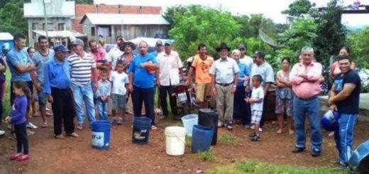 Por la falta de lluvias, se secó el embalse de Bernardo de Irigoyen y todo el pueblo está sin agua potable