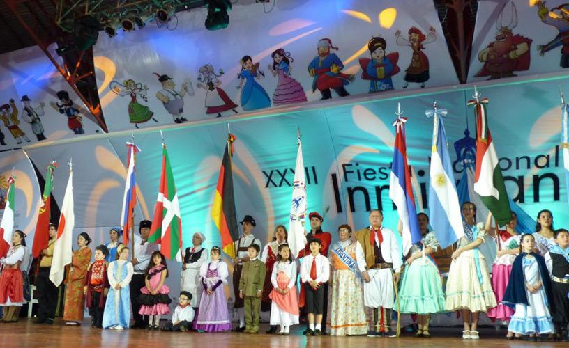 Seguí en vivo la Fiesta Nacional del Inmigrante en Oberá
