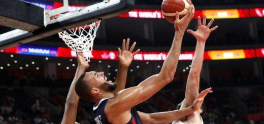 Francia derrotó a Estados Unidos y será rival de Argentina en las semifinales del mundial de básquet en China
