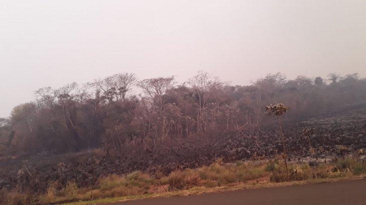 Se redujeron casi 500 focos de incendio en Paraguay en las últimas 24 horas