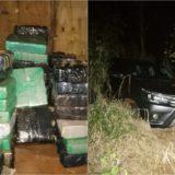 La marihuana hallada en un escondite narco de Montecarlo pesó más de una tonelada