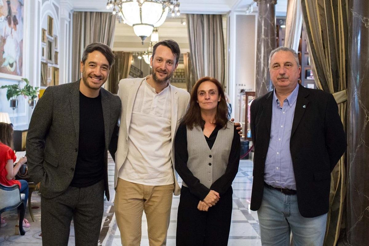 Passalacqua logró financiamiento para producciones audiovisuales en encuentro con referentes mundiales de cine en España