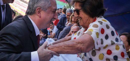 """""""Producir y trabajar, la gran enseñanza de los pioneros"""", recalcó Passalacqua en el acto por el centenario de Eldorado"""
