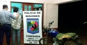 La Policía recuperó tres motocicletas robadas y detuvo a cuatro personas en distintos procedimientos