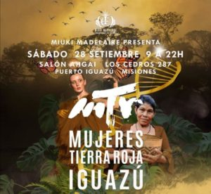 Seminario Internacional Mujeres Tierra Roja: charlas, talleres y feria para rendir tributo al misionerismo y su biodiversidad