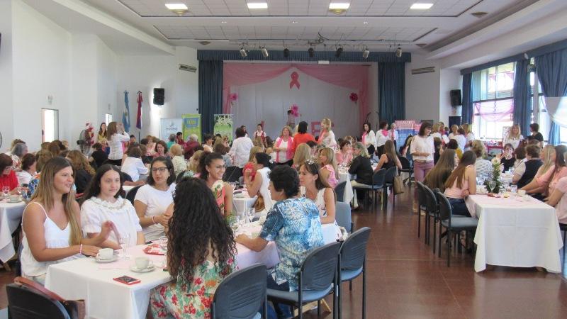 """""""Té Rosa Solidario"""": un evento que apunta a la solidaridad y la prevención del cáncer de mama"""