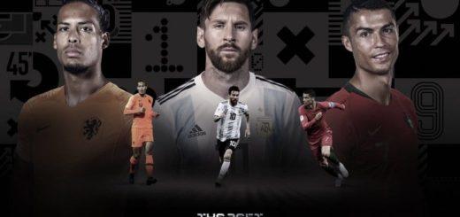 Messi, estará compitiendo por el premio The Best