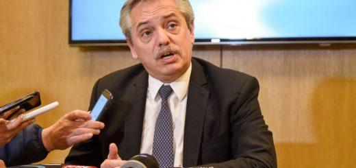 """""""Lo único que le pedí a Macri fue que cuide las reservas y pierde u$s100 millones por día"""", aseguró Alberto Fernández"""