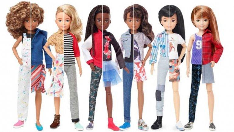 Barbie lanza una serie de muñecos sin género