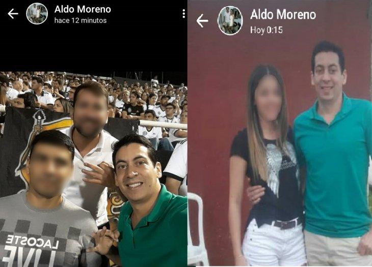 Un preso pidió permiso para ir al médico pero se fue a ver un partido de fútbol y compartió las imágenes en su estado de WhatsApp