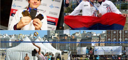 En la tercera jornada de los Juegos Nacionales Evita Misiones sumó 16 medallas y acumula 39 en total