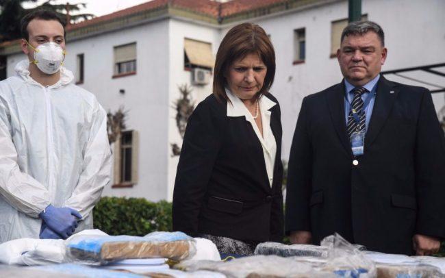 """Patricia Bullrich destacó que en Misiones se baten records en incautación de drogas: """"pasamos de un 15 a un 40 por ciento"""""""