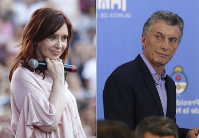 "Cristina Kirchner volvió a calificar de «machirulo"" a Macri"
