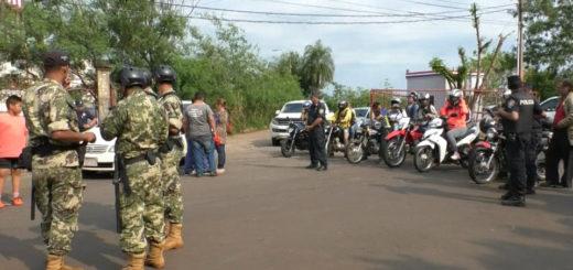 Paseros paraguayos mantenían el bloqueo parcial del puente San Roque González de Santa Cruz