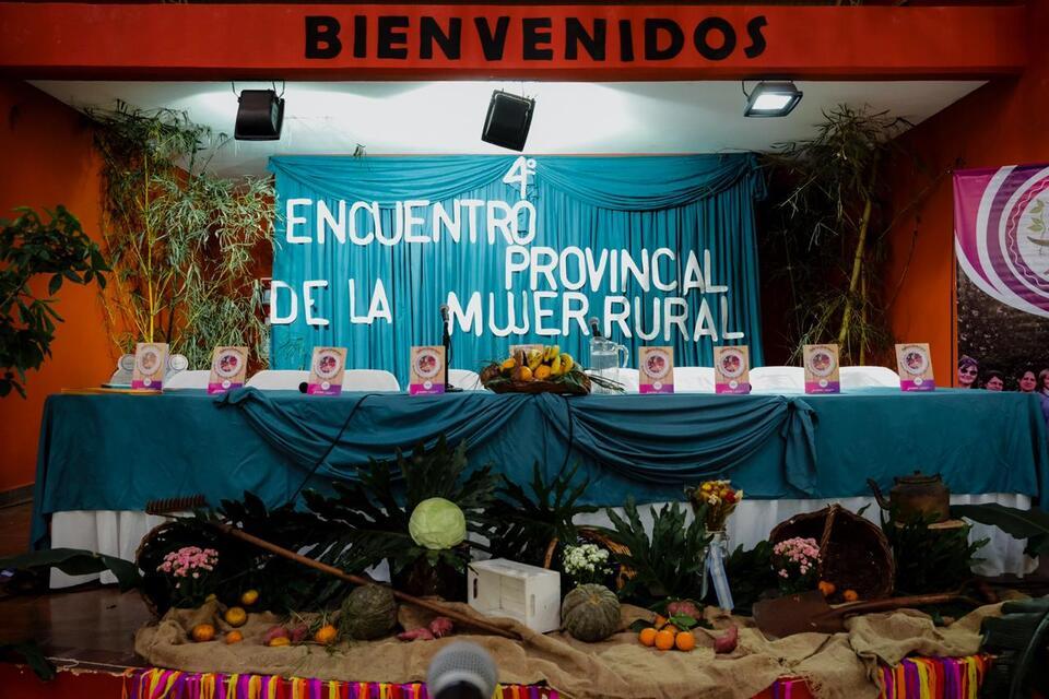 """""""Tenemos una Agricultura Familiar modelo y sostenemos nuestra producción"""", sostuvo Herrera Ahuad"""
