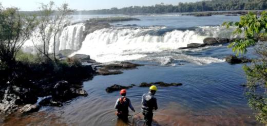 Iguazú: recuperan 90 kilos de monedas arrojadas a la Garganta del Diablo