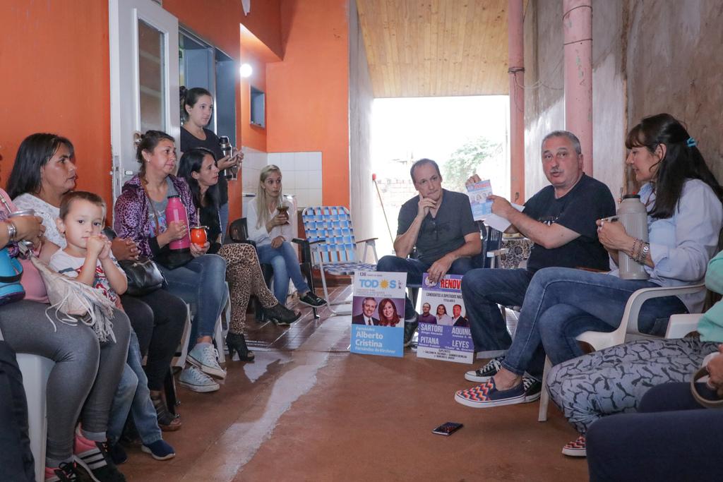 """""""Es momento de torcer el rumbo"""", dijo Passalacqua al pedir el voto para Alberto Fernández y los candidatos a diputados de la Renovación"""
