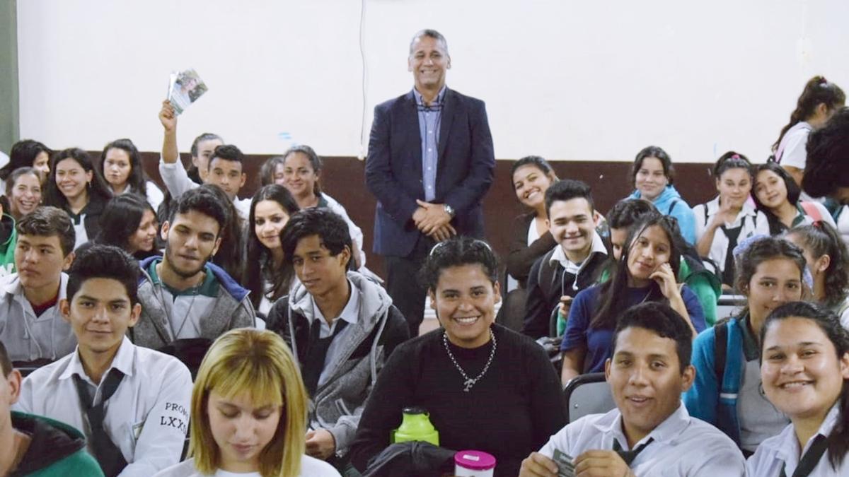 """Penayo sobre las jornadas de Derechos y Garantías Constitucionales en secundarias: """"Buscamos incentivar a los jóvenes a debatir crítica y reflexivamente"""""""