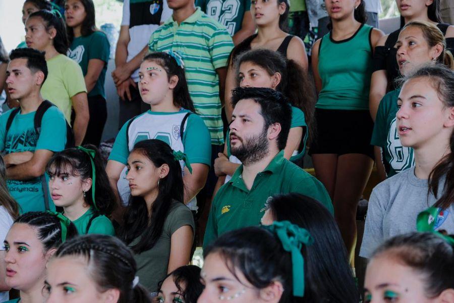 En la apertura de las Olimpíadas de Candelaria, Herrera Ahuad se manifestó a favor de la continuidad de estas políticas deportivas destinadas a los jóvenes