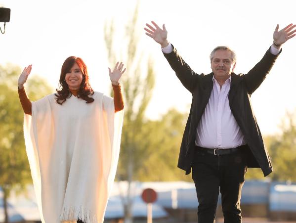 """Alberto Fernández: """"Tenemos que construir un país que contenga a todos los argentinos"""""""